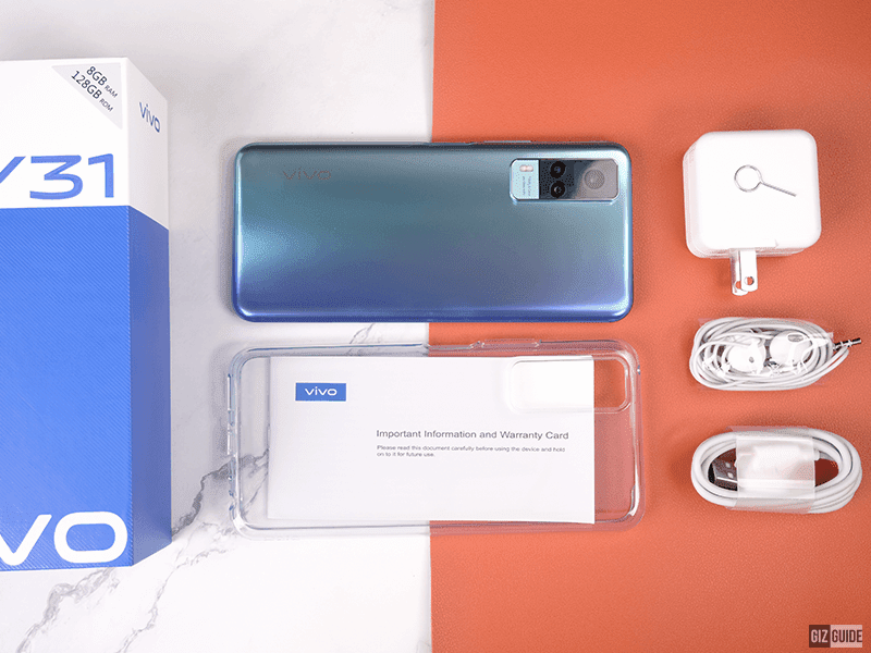 Watch: vivo Y31 unboxing and first impressions - pretty design out of the box!