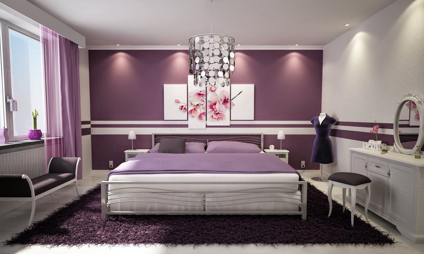 master bedroom purple ideas