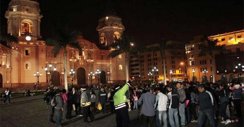 Realizarán simulacro nocturno de sismo en el Distrito de Breña