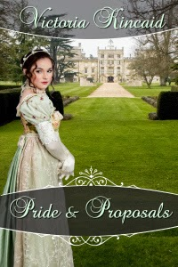 Book Cover: Pride and Proposals by Victoria Kincaid