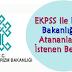 EKPSS ile Kültür Bakanlığı'na Atananlardan İstenen Belgeler