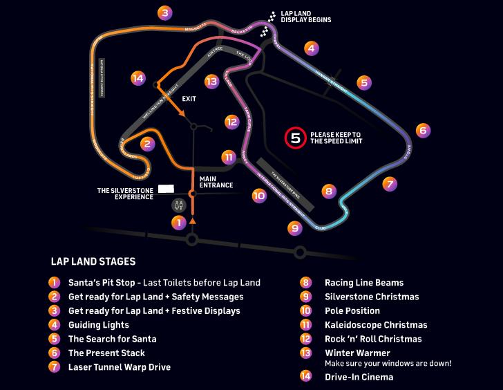 Lap Land Silverstone Map Circuit Guide Layout