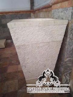 Pedestal Marmer Tulungagung | Wastafel Marmer | Pedestal Batu Kali