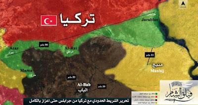 Pejuang Suriah Usir ISIS di Sepanjang Perbatasan Turki