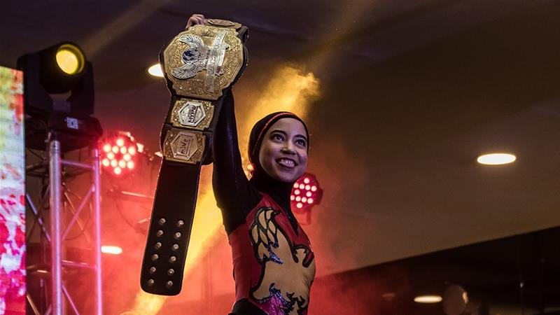 """Five feet tall and weighing less than 50kg, Nor """"Phoenix"""" Diana won her first title in 2019"""