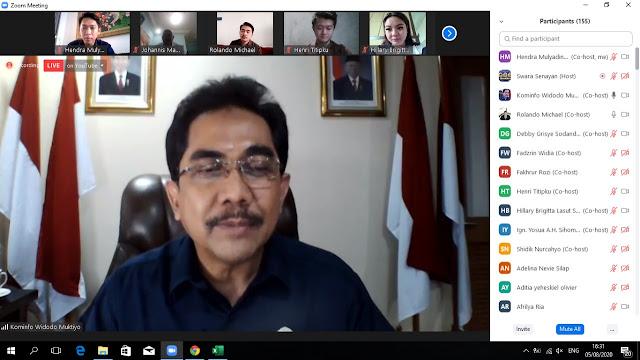 Siasati Pandemi, Kominfo Dorong Pelaku UMKM Go Virtual