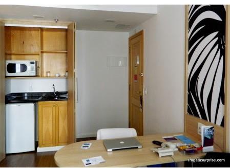 Apartamento do Hotel Mercure Pinheiros, São Paulo