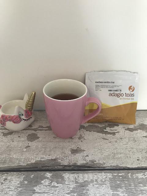Adagio Teas infusing step three
