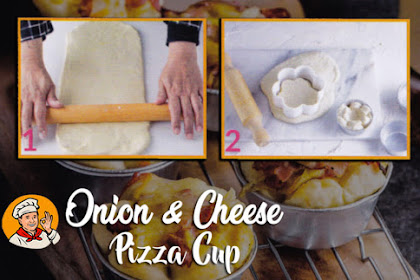 Onion and Cheese Pizza Cup