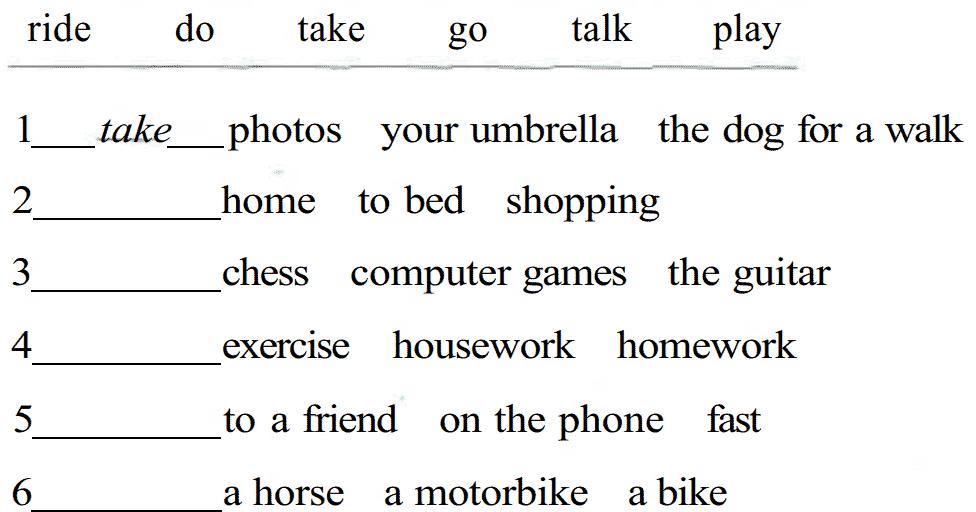 Adverbios de tiempo en ingles ejercicios