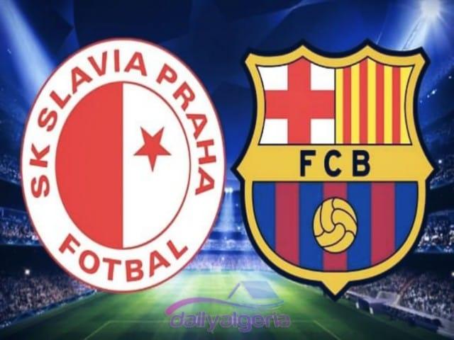 القنوات الناقلة لمباراة برشلونة ضد سلافيا براغ - دوري أبطال أوروبا - برشلونة ضد سلافيا براغ -برشلونة  القنواة الناقلة على استرا