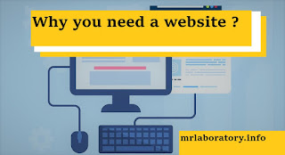 Why you need a website ?  - MR Laboratory Blog