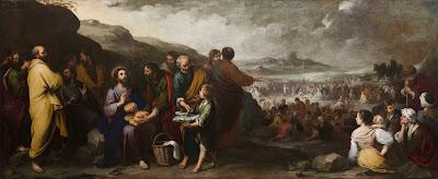 La multiplicación de los panes y los peces - Murillo - 1667/70