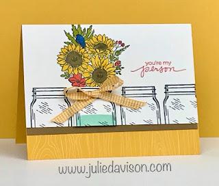 Stampin' Up! Jar of Flowers Catalog CASE ~ www.juliedavison.com #stampinup