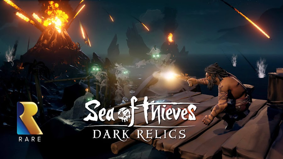 sea of thieves dark relics free content update monthly event dlc rare studio pc xb1