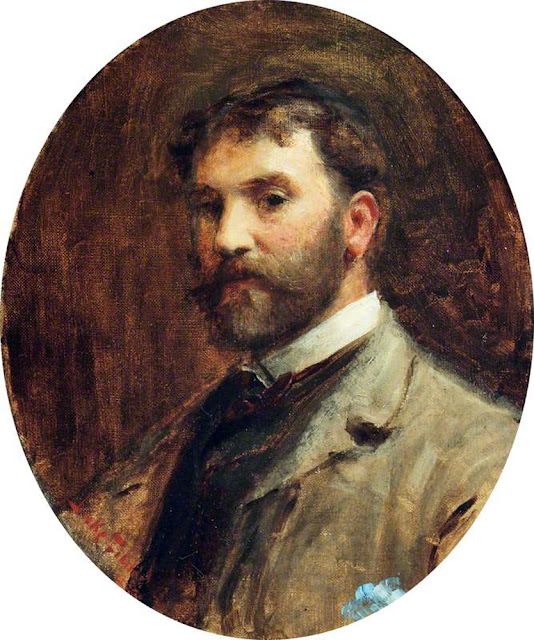 Luke Fildes, Self Portrait, Portraits of Painters, Fine arts