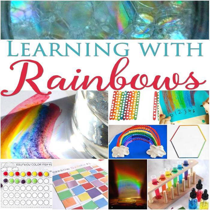 rainbow learning activities