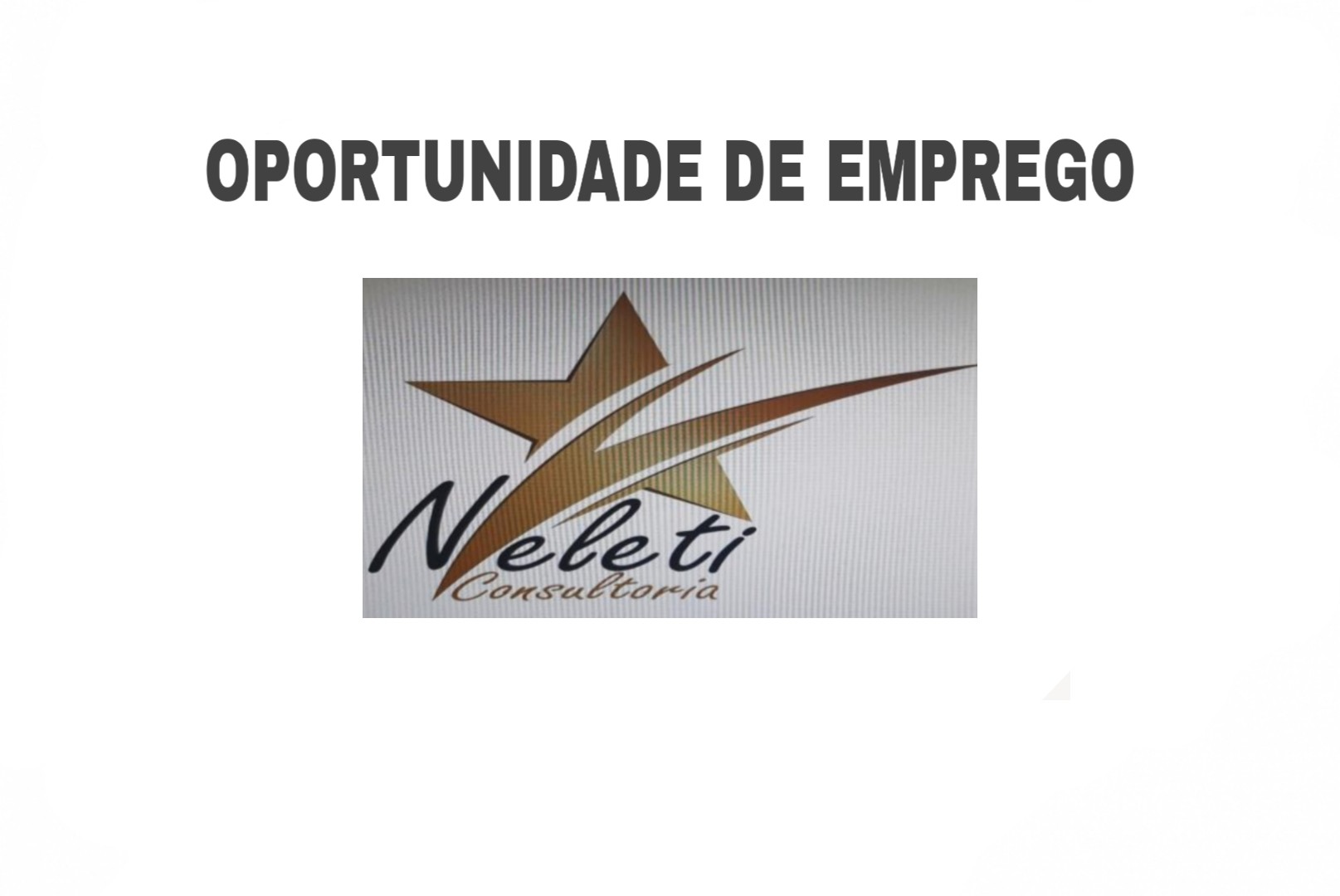 A Nyeleti Consultoria E.I é uma empresa vocacionada em prestação de serviços de consultoria  nas áreas de negócios e empreendedorismo