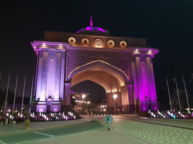Memoriale dei fondatori Abu Dhabi
