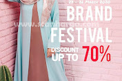 Promo Elzatta Hijab Brand Festival Shopee Periode 23 - 26 Maret 2020