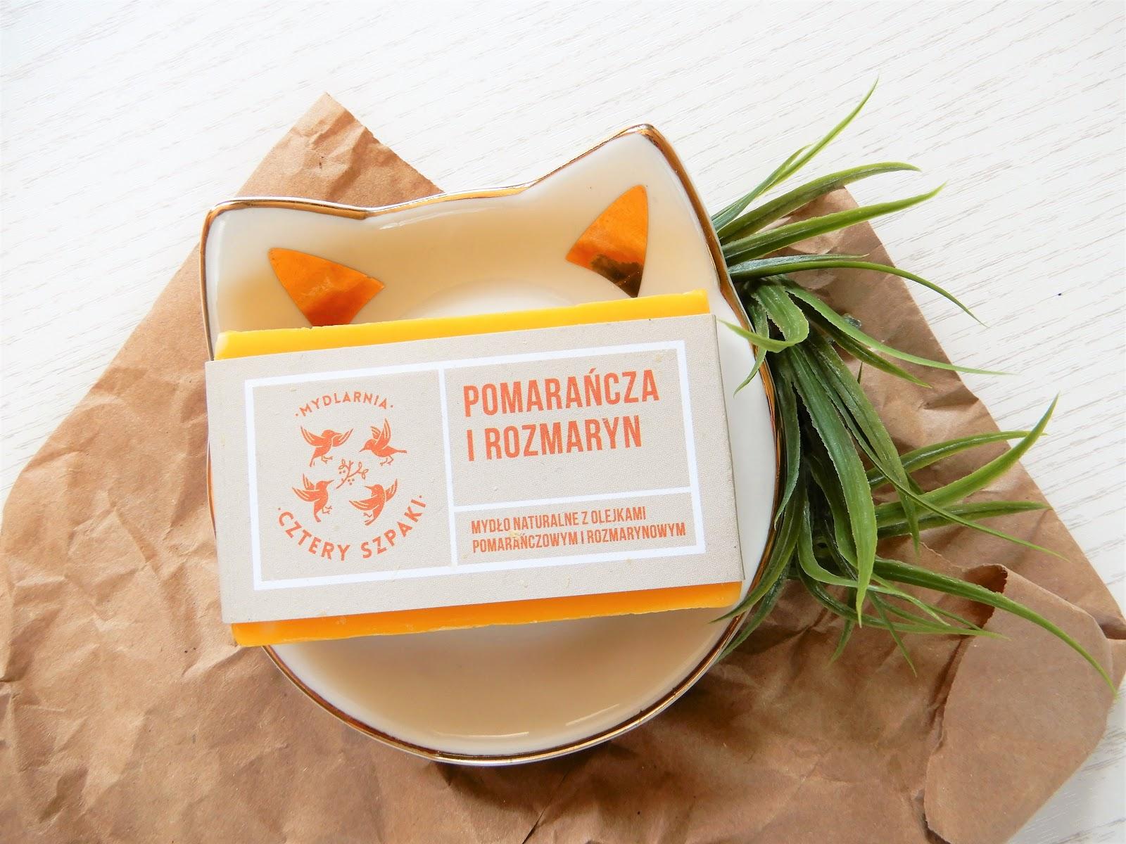 Naturalne mydło rozmaryn i pomarańcza| Cztery Szpaki