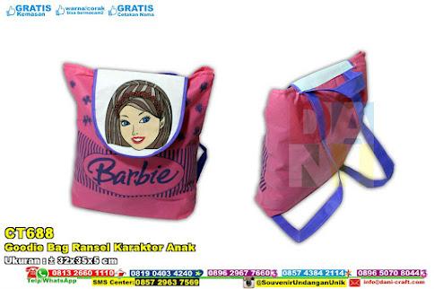 Goodie Bag Ransel Karakter Anak