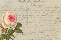background rose digital blog link party