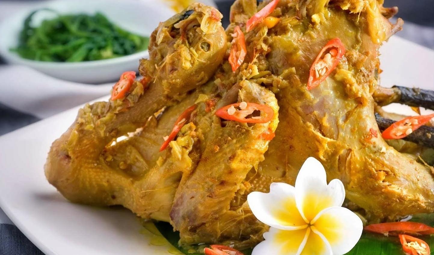Makanan Khas Bali Ayam Betutu