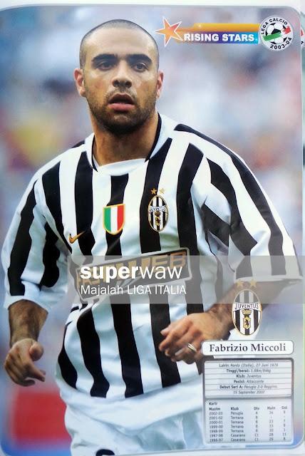 Fabrizio Miccoli Juventus