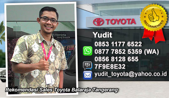 Rekomendasi Sales Toyota Auto2000 Tangerang