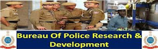 Bureau of Police Research & Development Recruitment 2017,120+Posts