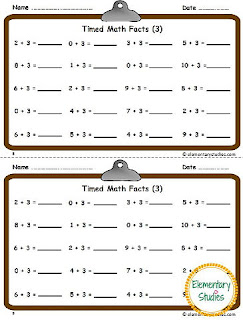 Addition and Subtraction Fact Fluency - within 10