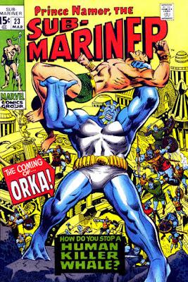 Sub-Mariner #23, Orka