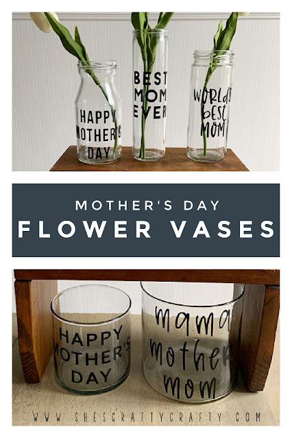 Mother's Day Flower Vases.