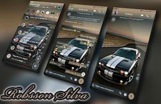 Horizon Car Theme For YOWhatsApp & Fouad WhatsApp By Robsson