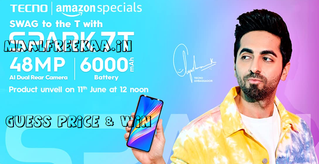 Guess The Price Spark 7T & Get FREE
