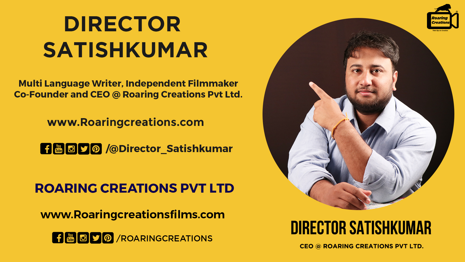 Director Satishkumar