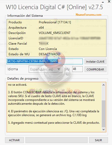 Windows 10 Digital License C# v2 7 5 Key Tested Free - Blog Downloaded