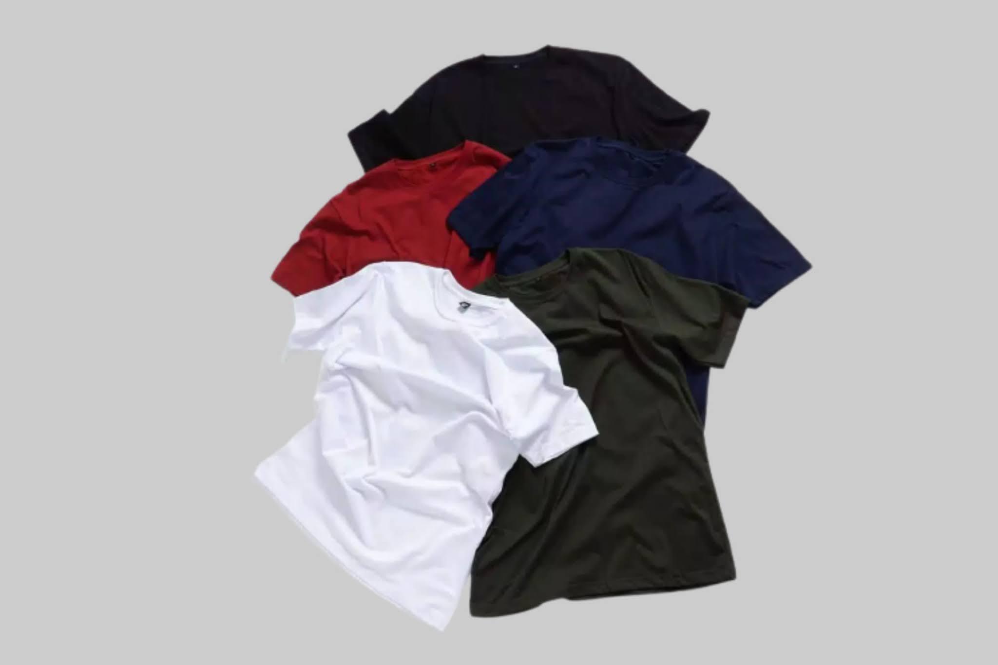 10 Top Supplier Kaos Polos Murah di Shopee, Untuk Pria & Wanita