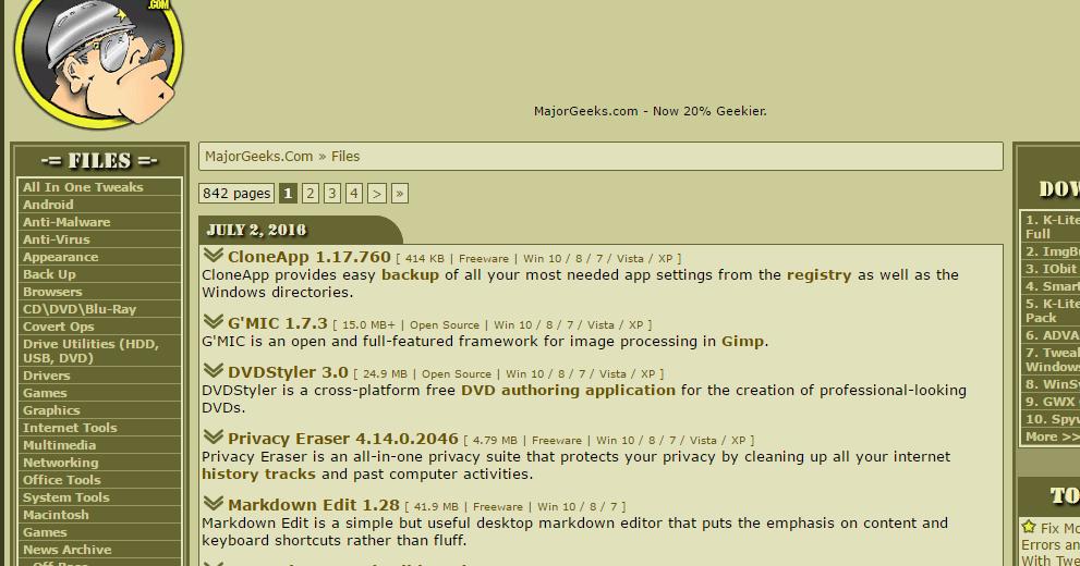 Top 10 Des Meilleurs Sites pour télécharger Les Logiciels Windows Gratuitement - Tech-Tutoriel