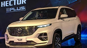 MG hector plus 6 seater price in india