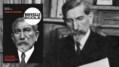 Charles Maurras Nouvelle Ecole