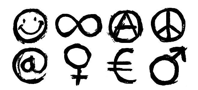 Tellagorri bloc los s mbolos m s universales for Que significa wc