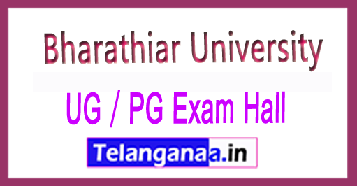 Bharathiar University UG / PG Exam Hall Ticket 2018 Download
