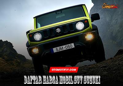Daftar Harga Mobil SUV Suzuki