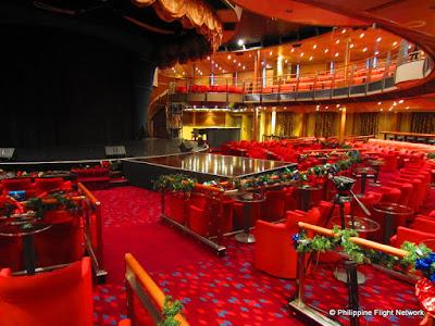 costa victoria theatre