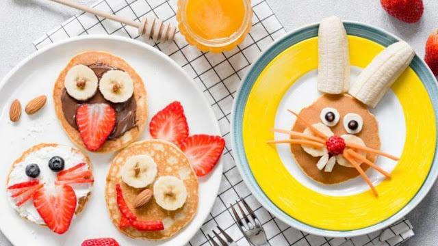 إعداد فطور صحي للأطفال