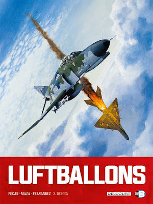couverture de LuftBallons T2 Defcon de Pecau et Maza chez delcourt