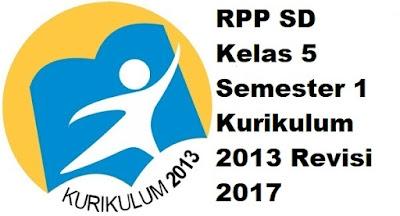 RPP SD Kelas 5 Semester 1 Kurikulum 2013