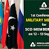 1st conference of Military Medicine for SCO Member States on 12 – 13 Sept, 2019